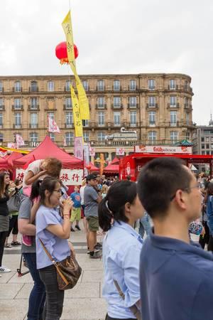 Zuschauer - Chinafest, Köln